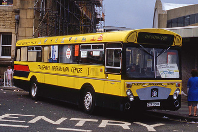 Hyndburn 31 Accrington Bus Stn Sep 86