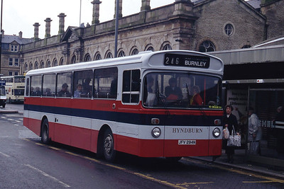 Hyndburn 41 Accrington Bus Stn Mar 94