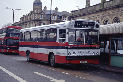 Hyndburn 44 Accrington Bus Stn Mar 94