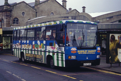 Hyndburn 35 Accrington Bus Stn Mar 94