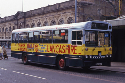 Hyndburn 44 Accrington Bus Stn Sep 86