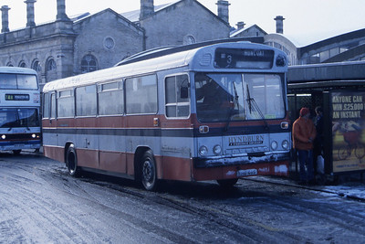 Hyndburn 46 Accrington Bus Stn 1 Nov 96