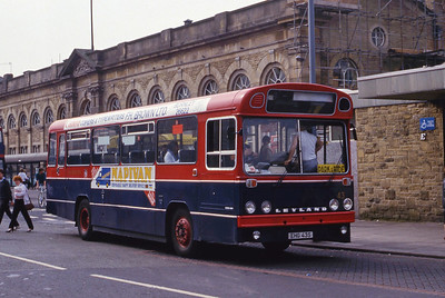 Hyndburn 43 Accrington Bus Stn Sep 86