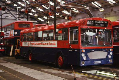 Hyndburn 33 Accrington Depot Sep 86
