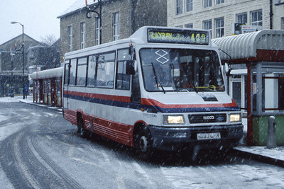 Hyndburn 16 Accrington Bus Stn Nov 96