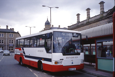 Hyndburn 39 Accrington Bus Stn Apr 91