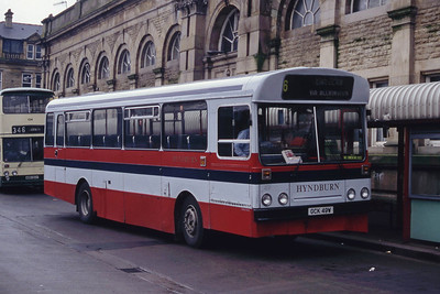 Hyndburn 49 Accrington Bus Stn Mar 94