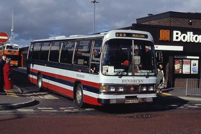 Hyndburn 77 Bolton Bus Stn Mar 94