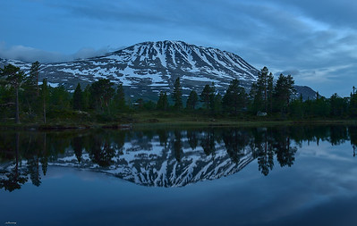 Gaustatoppen ; The Top