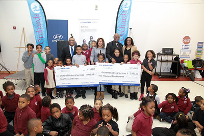 Hyundai Coats for Kids at P.A.C.E.