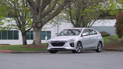 2017 Hyundai Ioniq EV Parked Reel