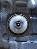"""Aftermarket speaker test fitted to speaker adapter ring  from  <a href=""""http://www.car-speaker-adapters.com/items.php?id=SAK058""""> Car-Speaker-Adapters.com</a>"""