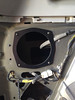 "Speaker adapter ring   from  <a href=""http://www.car-speaker-adapters.com/items.php?id=SAK058""> Car-Speaker-Adapters.com</a>   mounted to vehicle"