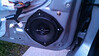 """Aftermarket speaker and speaker adapter  from  <a href=""""http://www.car-speaker-adapters.com/items.php?id=SAK058""""> Car-Speaker-Adapters.com</a>  installed on door"""