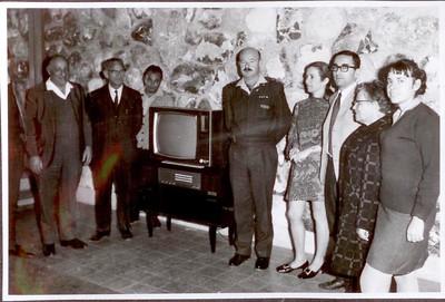 8.1.1970 - קבלת טלוויזיה למועדון משפחות