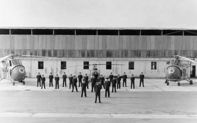 הקמת גף 124 בטייסת 103