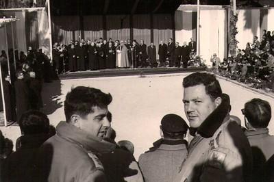 ביקור האפיפיור 1963, שגב טייס וסגל נדיר