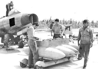 חימוש מטוס אורגן טייסת 113