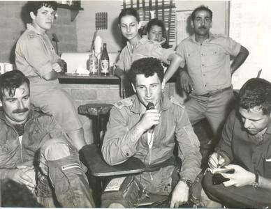 מלחמת ששת הימים, משמאל: ארד, בהרב, אמציה, נעמה, מוש