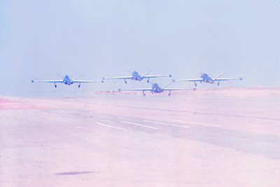 יום חיל האוויר שנת 71: הצוות האירובאטי צוקית
