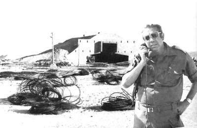 בומה שביט מפקד יחידת סימון מסלולים בפאיד