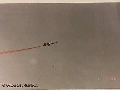 מטוס F5. קרדיט: אוריון לב קישון.
