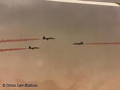 מטוסי F5. קרדיט: אוריון לב קישון.