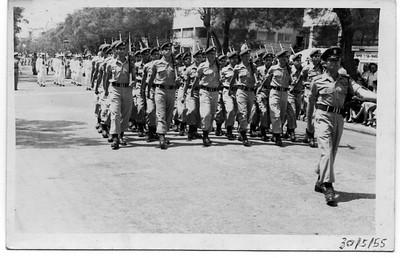 קורס 21 במצעד יום העצמאות 1955
