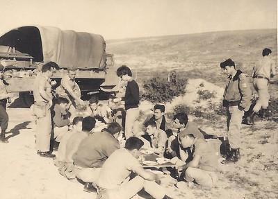 מתקדם טיול בנגב  1964