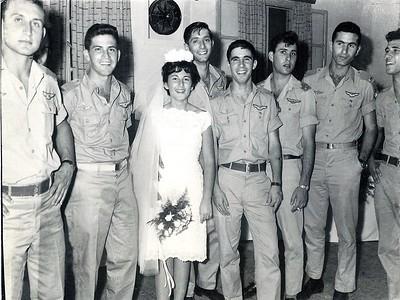 חתונה  לבוגרי הקורס גונן ויהודית  1964