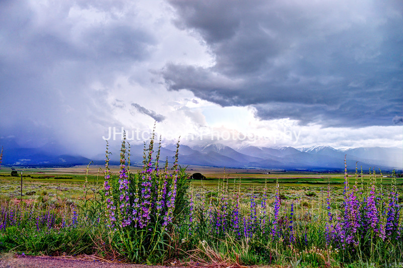 Summer Storm Over the Sangre de Cristo's
