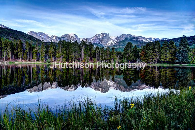 Summer at Sprague Lake
