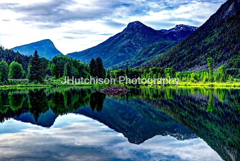 Elk Mountain Reflections
