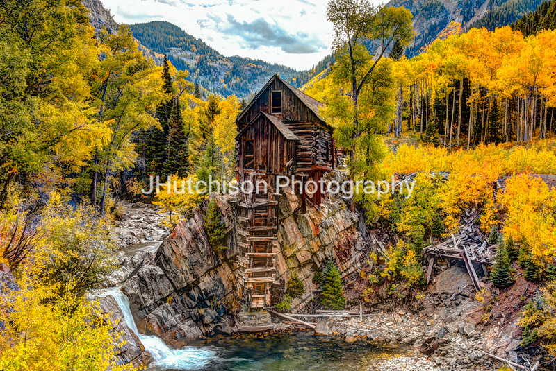 COL0026 - Crystal Mill in Autumn