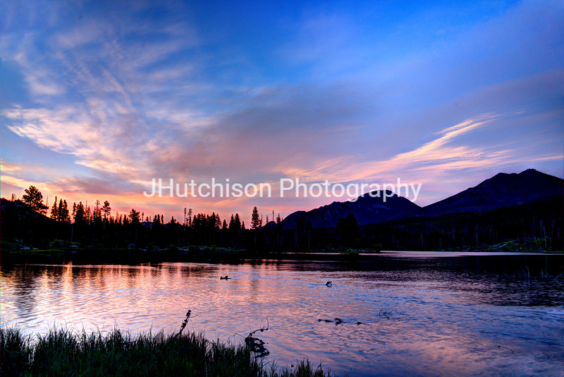 Sunrise Over Sprague Lake