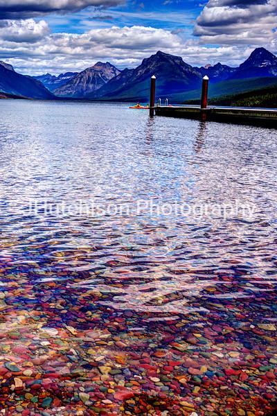 Lake Macdonald Colorful Pebbles