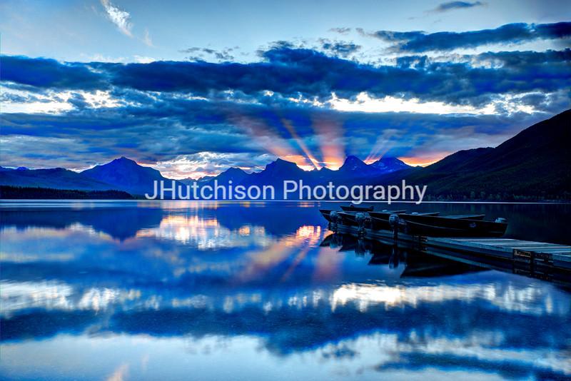 Summer Sunset at Lake Macdonald