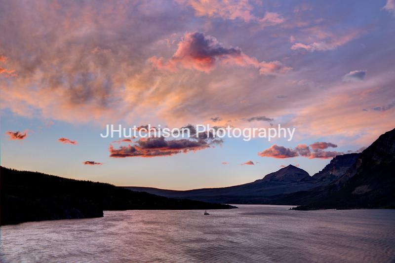 Sunrise at St. Mary Lake