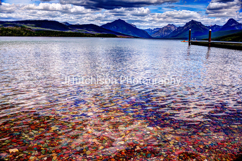 Colorful Lake Macdonald