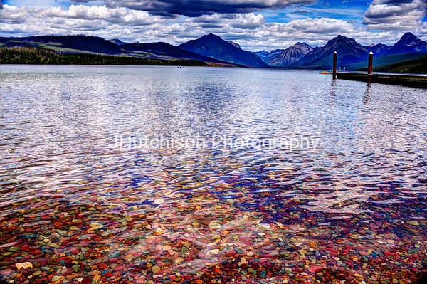 Colorful Lake Macdonald