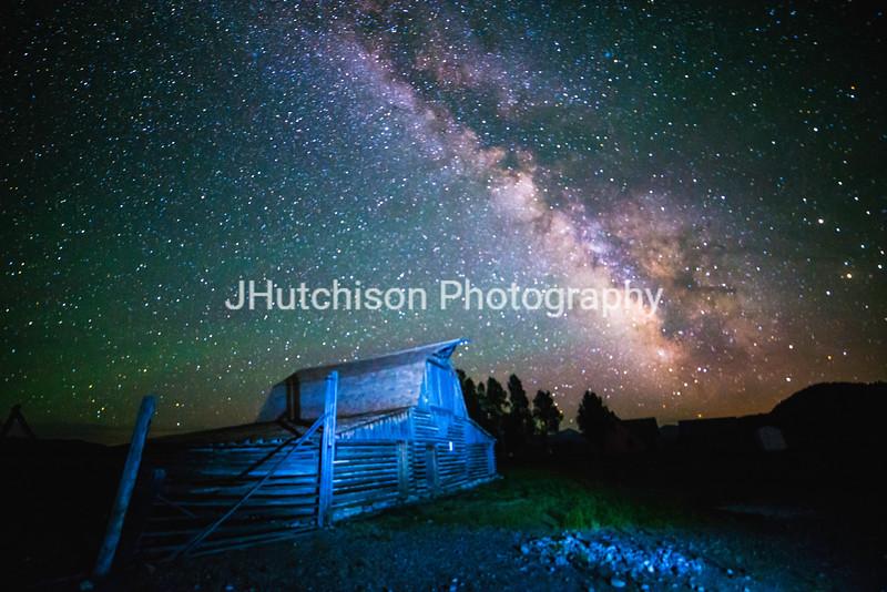 Milky Way at the Moultan Barn