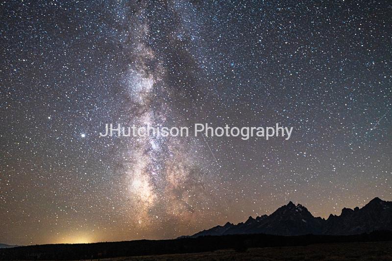 WY0041 - Grand Teton Milky Way