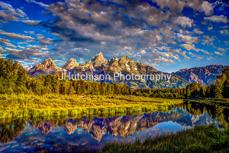 Mt. Teton and Schwabacher Landing
