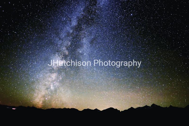 Milky Way at the Tetons