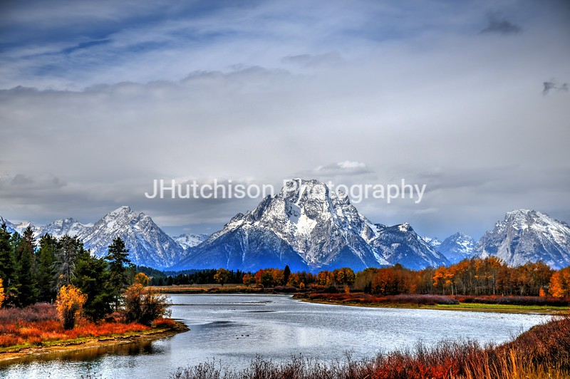 Oxbow Bend in the Tetons