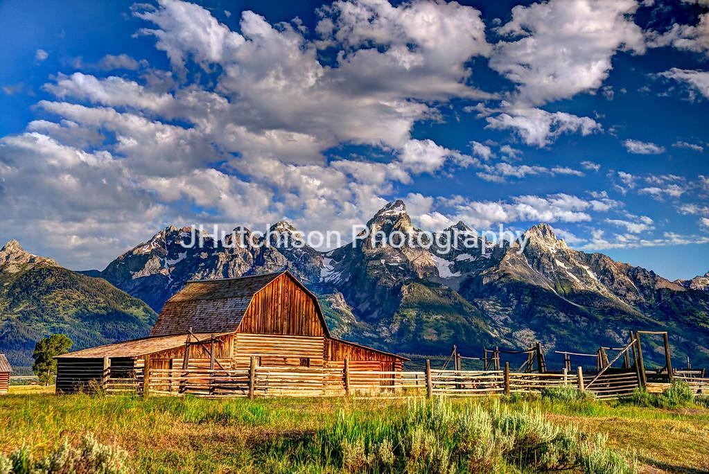 John Moultan Barn and Mt. Teton