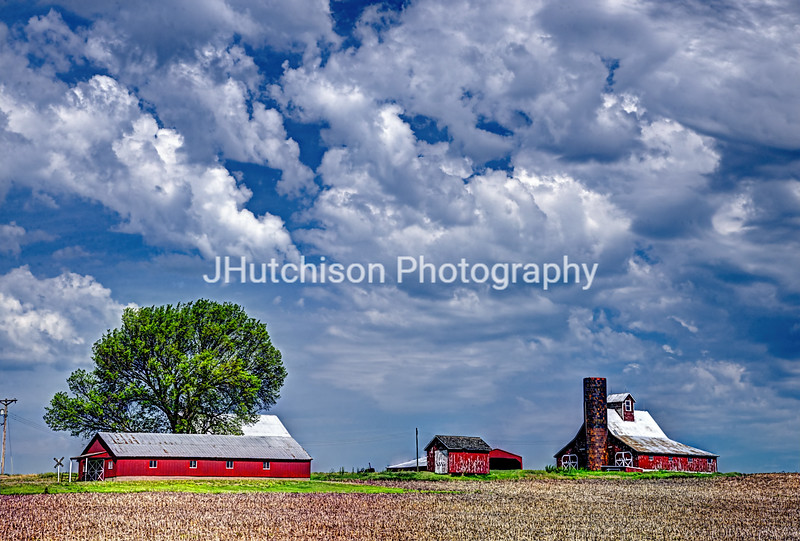 Barns in Rural Missouri