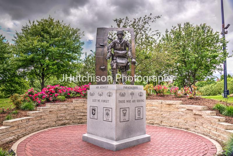 NB0007 - Airborne Memorial Sculpture