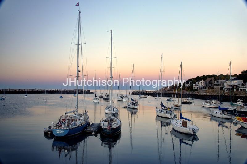 Rockport Harbor Sunset