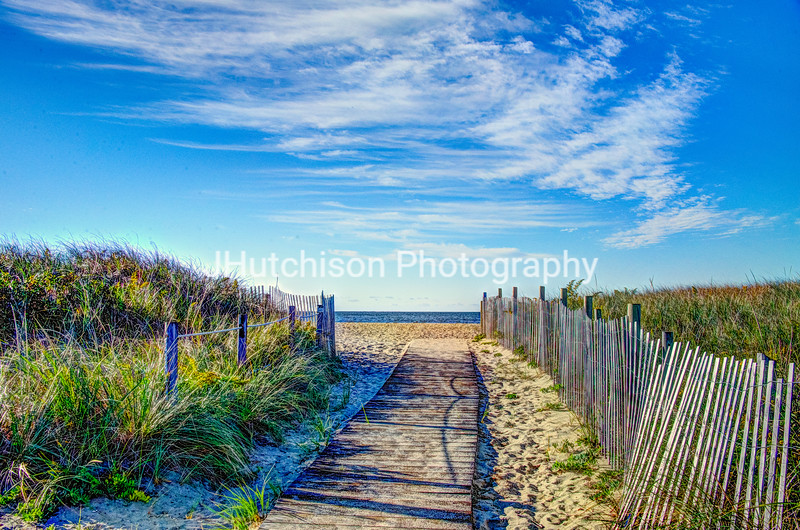 NE0042 - Beach Boardwalk on Cape Cod